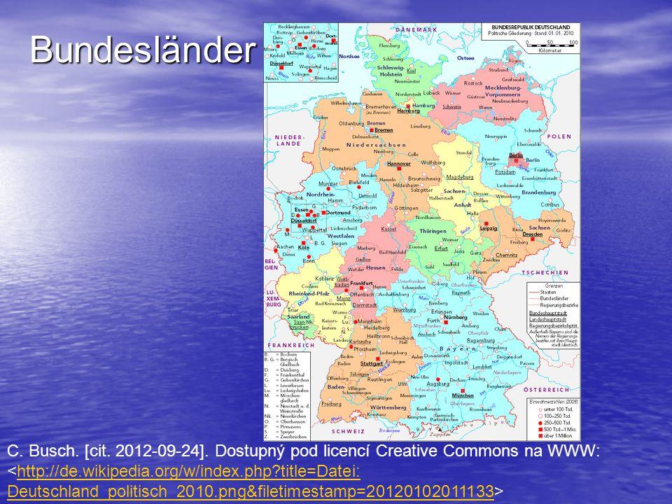 Bundesländer C. Busch. [cit. 2012-09-24]. Dostupný pod licencí Creative Commons na WWW: <http://de.wikipedia.org/w/index.php title=Datei: